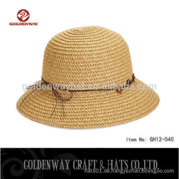 Mode Damen beige Eimer Hüte