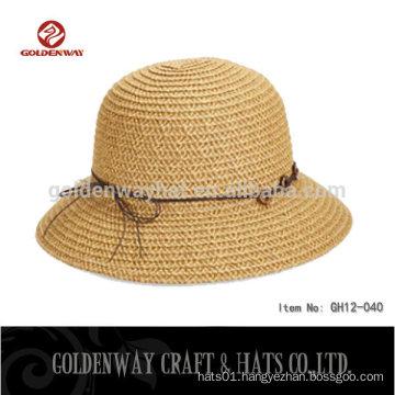 Fashion ladies beige Bucket hats