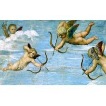 Pintura al óleo famosa del Cupid de la alta calidad Handpainted