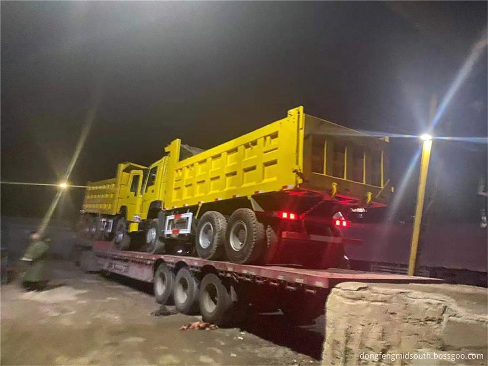 Refursbished Used Howo 6x4 10 Wheels Dump Truck5