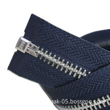 Platinum Zipper with Open End and Auto Lock, OEM Orders Welcomed