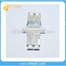 MM Duplex LC Adaptador de fibra óptica