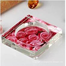 Красивый цветок Кристалл Пепельница для дома и офиса украшения (СД-СА-603)