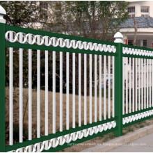 Nuevo diseño de cinta de PVC recubierto de acero de la cerca tubular