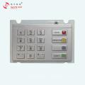 Almohadilla de PIN de cifrado a prueba de agua para máquina expendedora