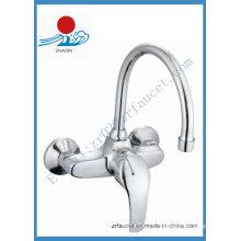 Misturador de cozinha de parede monocomando em torneira (ZR20603-A)