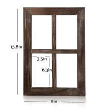 Wall home Decor Outdoor Window Rustic Barnwood Frames