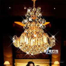 hängende Lampe des heißen Verkauf Luxusgoldfarbpendelleuchte, hängender heller Leuchter des modernen Entwurfs, kleiner beleuchtender Leuchter der Größe