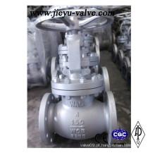 API ANSI BS 150lb 4inch Wcb válvula de globo de haste de aumentação