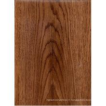 Revêtement de sol en vinyle texturé en bois / plancher en bois vinyle