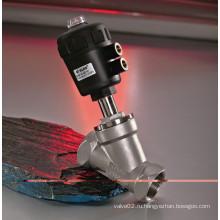 Угловой седельный клапан серии KLJZF с двухсторонним пневматическим клапаном серии KLJZF