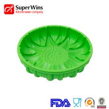 Flower Shape Non-Stick Silicone Cake Mold Baking Trays