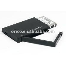 """Gabinete do HDD de armazenamento externo SATA de 2,5 """""""