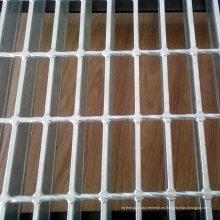 Tipo plano 30 * 3 rejas de acero galvanizado