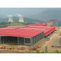 Vorfabriziertes Stahlkonstruktions-Rahmen-Werkstatt-Gebäude (KXD-SSW9)