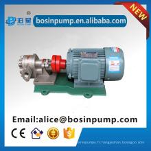 pompes à engrenages rotatoires standard d'utilisation d'huile de structure / pompe à huile fabricant