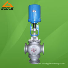 Válvula de control de desvío eléctrico de tres vías (3 vías) (GAZDLX)