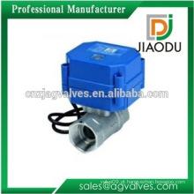 Alta qualidade personalizada sem latão latão válvula de mistura eletrônica para óleo