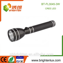 Factory Supply Long Time Best Bright Rechargeable 1AA Nicd Emergency Usage Powered Cree 3w police led torch light