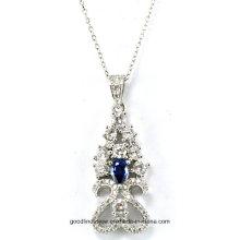 Diseño especial e impresiona joyería 925 colgante de plata esterlina al por mayor P5017