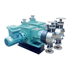 Hydraulic Diaphragm multiple head metering Pump