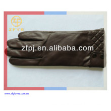 2014 new style man genuine leather glove in China