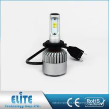 Comercio al por mayor 8000lm 6500K Seúl LED H7 S2 Auto Kit de faros de coche Bombillas de haz bajo Accesorio