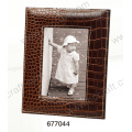 Special Classic Leather Photo Frame for Home Decor