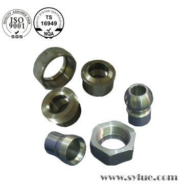 Produits manufacturés de précision en acier de manufacture