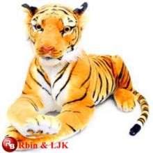 Treffen Sie EN71 und ASTM Standard ICTI Plüsch Spielzeugfabrik Qualitäts-Plüsch-Tiger