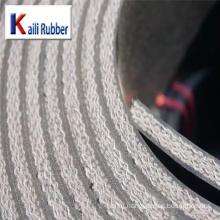 High Tensile Industrial Nylon Rubber Conveyor Belt System For Loading
