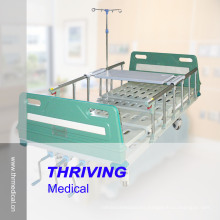 Cama de hospital manual de 3 manivelas (THR-MB03CR)