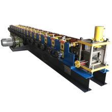Steel strip cz purlin rolling forming machine