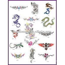 airbrush tattoo stencil book
