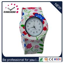 Reloj de pulsera de silicona de color digital Silicon Band (DC-1351)
