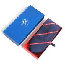 Neuankömmling 2018 Custom Print Schublade Geschenk Seide Jacquard Krawatte Verpackung
