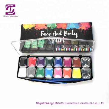 Customized Label und Paket Party Face Paint Kit