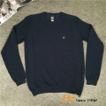 Raglan Sleeves and Slit Sweater for Men