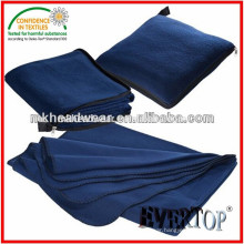 Wholesale Fleece Pillow Blanket with Zipper Puller