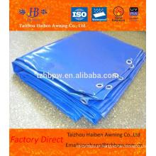 Várias cores Impermeável PVC Tarpaulin com Metal ilhoses