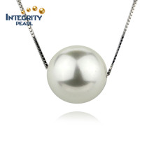 12mm Pearfect Round Big Shell Pearl Pendant
