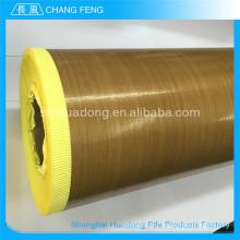Séduisantes prix nouveau Type PTFE en fibre de verre adhésif Teflon tissu enduit