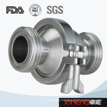 Stainless Steel Sanitary Threading Check Valve (JN-NRV1001)