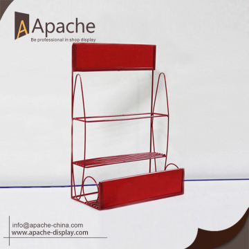 retail beverage display rack