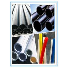 pipe 2014 vente chaude haute qualité extrution blanc PE pour tuyaux de hoola