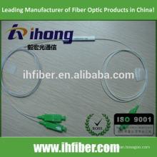 Fábrica SC / APC Singlemode tubo de acero de fibra óptica Splitter