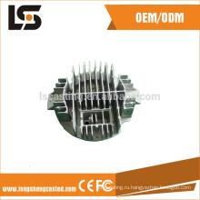 Алюминиевые части заливки формы для машинного оборудования и железной дороги из Китая