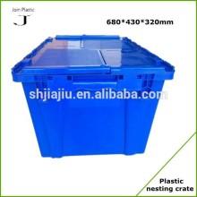 Lockable coloured plastic boxes