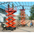 hydraulic greenhouse scissor lift