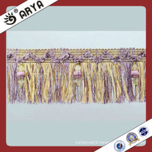 Fancy Beads Curtain Fringe,Tassel Trim ,Lace Trimming with Fine Design Used For Dress,Garment Decoration